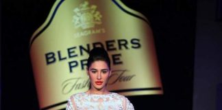 Nargis Fakhri walks the ramp at Seagram's Blenders Pride Fashion Tour – Photos