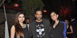 Prachi Desai, Rocky S attend Kamasutra Miss Maxim bikini fashion show