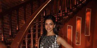 Deepika Padukone and Ranveer Singh promote Ram Leela on Comedy Nights With Kapil