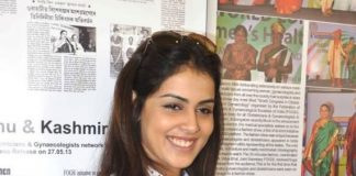 Genelia D'Souza attends FOGSI press meet