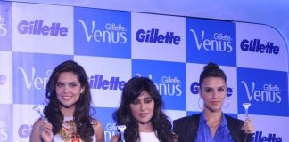 Neha Dhupia, Esha Gupta and Chitrangada Singh attend Gillette Venus launch