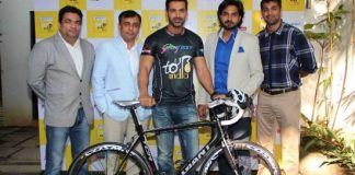 John Abraham attends Godrej Eon Tour de India event