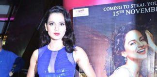 Kangana Ranaut arrives in Noida to promote Rajjo