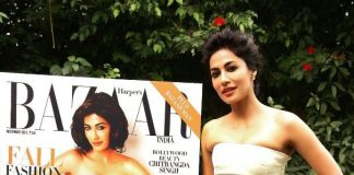 Chitrangada Singh unveils cover of Harper's Bazaar November issue