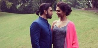 Ranveer Singh and Deepika Padukone promote Ram Leela in New Delhi