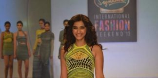 Sonam Kapoor walks the ramp at Signature International Fashion Weekend
