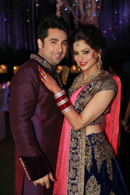 Aamna Sharif wedding reception (1)