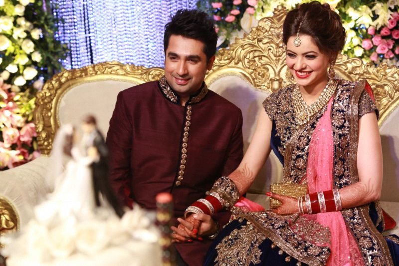 Aamna Sharif wedding reception (3)