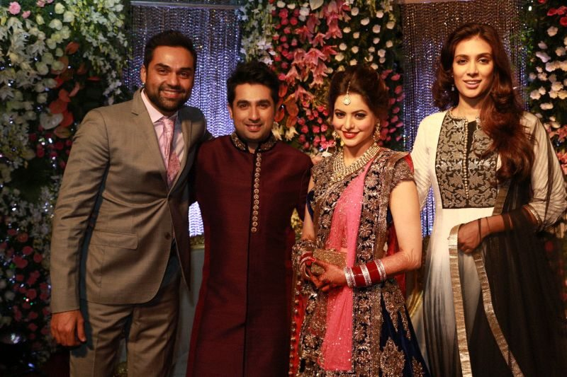 Aamna Sharif wedding reception (4)