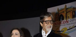 Amitabh Bachchan and Nita Ambani attend public awareness event
