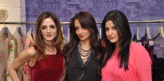 Twinkle Khanna, Lara Dutta, Sameera Reddy attend Bandra 190 store launch