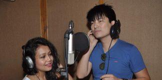 Meiyang Chang and Neha Kakkar spotted recording for Hanju Tony Kakkar
