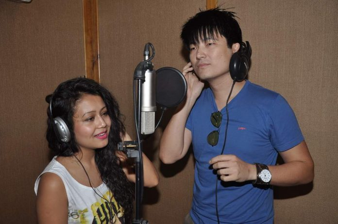 Chang and Neha recording (4)
