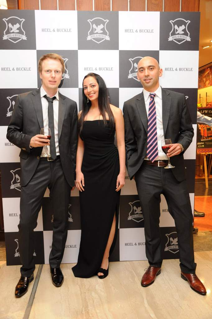 Dhiraj & Payal Bhatija and Arnar Jonsson of Heel & Buckle