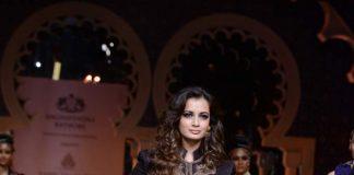 Dia Mirza turns showstopper for Raghavendra Rathore