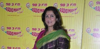 Dimple Kapadia promotes What The Fish at Radio Mirchi