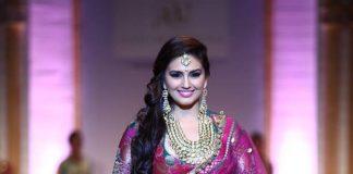 Huma Qureshi sizzles at Aamby Valley India Bridal Fashion Week
