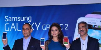 Huma Qureshi attends Galaxy Grand 2 launch event