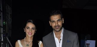 John Abraham and Tara Sharma attend Mumbai Marathon 2014 press meet