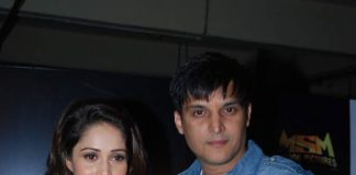 Jimmy Shergill and Nushrat Bharucha spotted on sets of Daar at the Mall