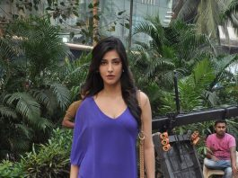 John Abraham and Shruti Haasan spotted on Welcome Back sets