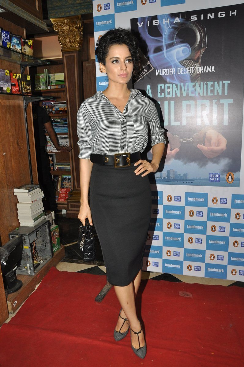 Kangana at book launch (1)