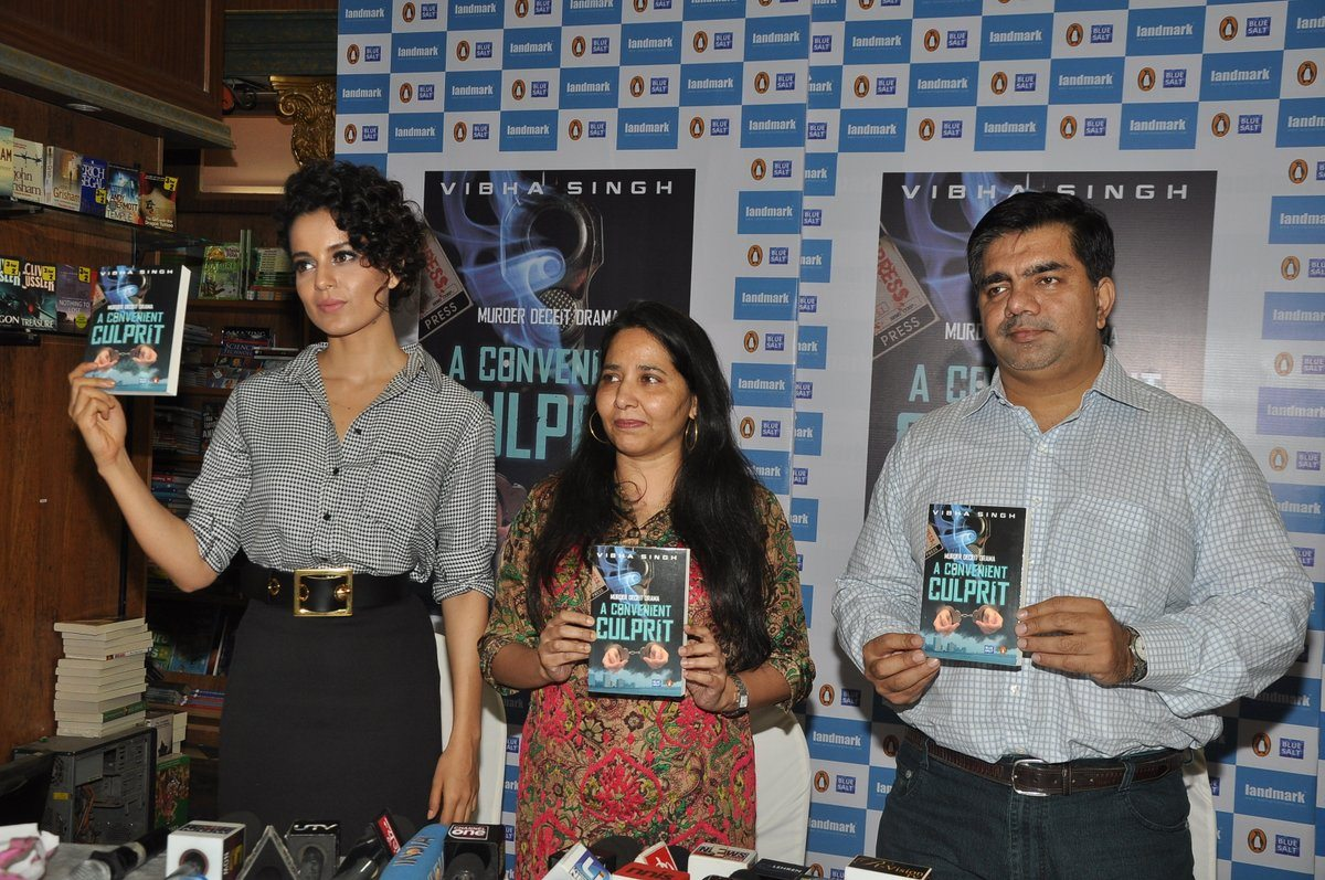 Kangana at book launch (4)