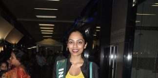 Miss India Earth 2013 Sobhita Dhulip returns from Philippines – Photos