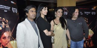 Niharika Singh and Nawazuddin Siddiqui attend Miss Lovely press conference