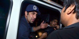 Ranbir Kapoor snatches video camera from journalist