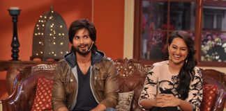 Shahid Kapoor and Sonakshi Sinha appear on Comedy Nights With Kapil