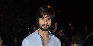 Shahid Kapoor and Karan Johar snapped at party