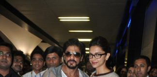Shahrukh Khan and Deepika Padukone spotted returning from Dubai
