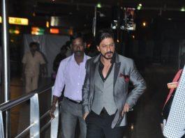 Shahrukh Khan returns to Mumbai from Delhi