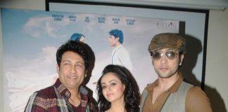 Shekhar Suman, Ariana Ayam and Adhyayan Suman reveal Heartless movie poster