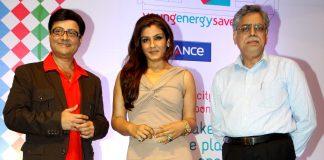 Sachin Pilgaonkar and Raveena Tandon attend Young Energy Savers event