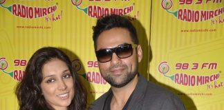 Abhay Deol, Preeti Desai visit Radio Mirchi, promote One by Two