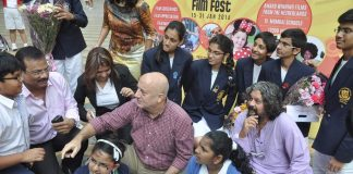 Anupam Kher, Amol Gupte snapped at Dutch Film Festival – Photos
