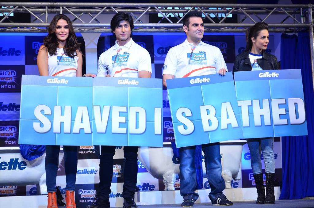 Gillette malaika and arbaaz event (2)