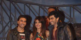 Priyanka Chopra, Ranveer Singh attend Gunday music launch