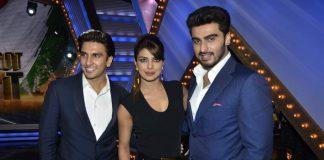 Priyanka Chopra, Arjun Kapoor, Ranveer Singh promote Gunday at India's Got Talent