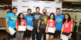 John Abraham inaugurates Reebok Ultimate Fitness Fan campaign