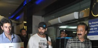 John Abraham snapped at Mumbai International airport – Photos