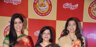 Sakshi Tanwar, Juhi Chawla attend Kellogg's Breakfast Pledge event