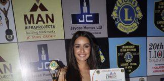 Ranveer Singh, Shraddha Kapoor attend Lion's Gold Awards 2014