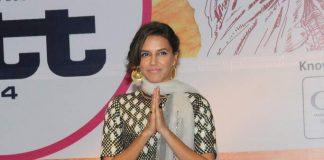 Neha Dhupia attends travel tourism exhibition in Mumbai