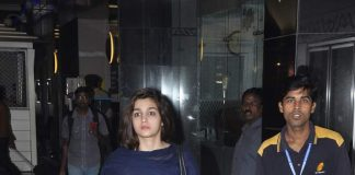 Alia Bhatt, Sharman Joshi spotted returning from New Year's vacations