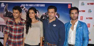 Salman Khan, Pulkit Samrat, other stars attend O Teri launch event