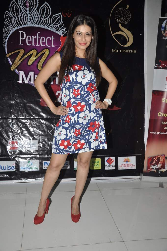 Payal at Perfect Miss MUMbai event (5)