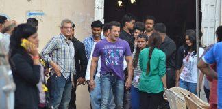 Salman Khan and Daisy Shah spotted shooting Jai Ho, Photos